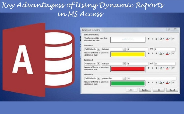 Key Advantages Of Using Dynamic Reports In MS Access