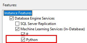 Learn About the Python Support in SQL Server and Machine
