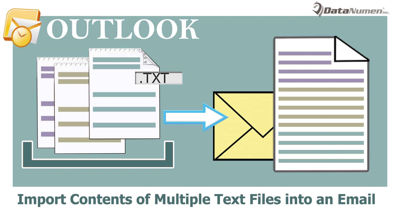 Quickly Merge & Import the Contents of Multiple Text Files into an Outlook Email