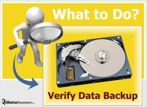 What Should You Do when Verifying Data Backups?