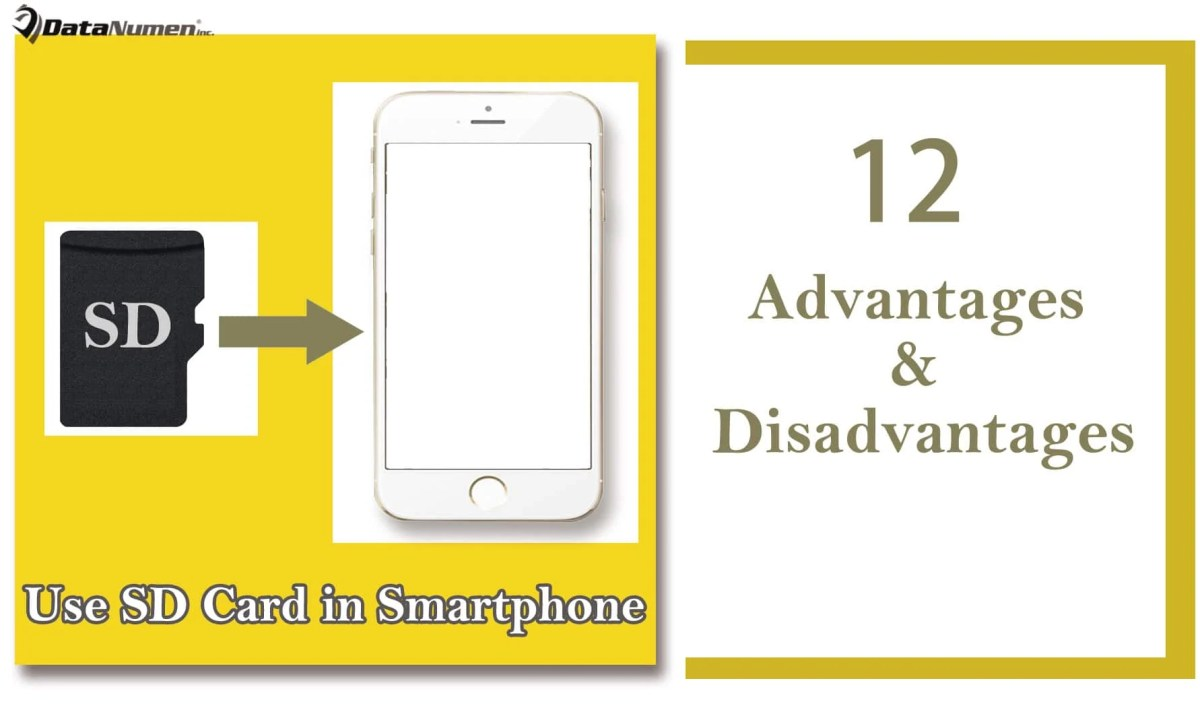 12 Advantages & Disadvantages of Using SD Card in Smartphone