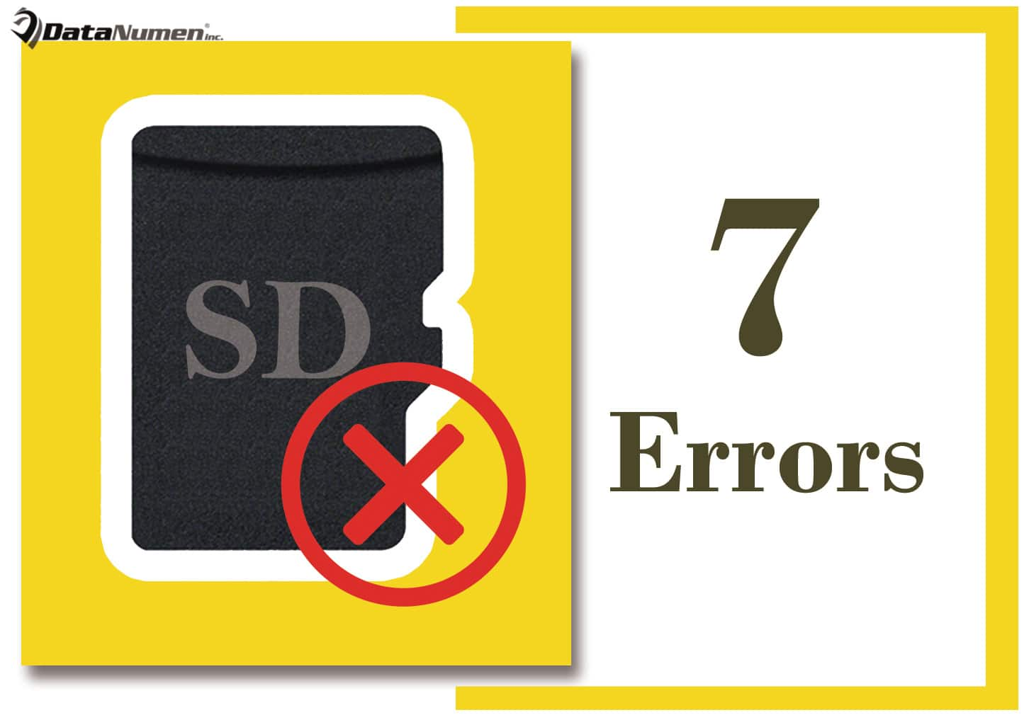 7 Most Common SD Card Errors