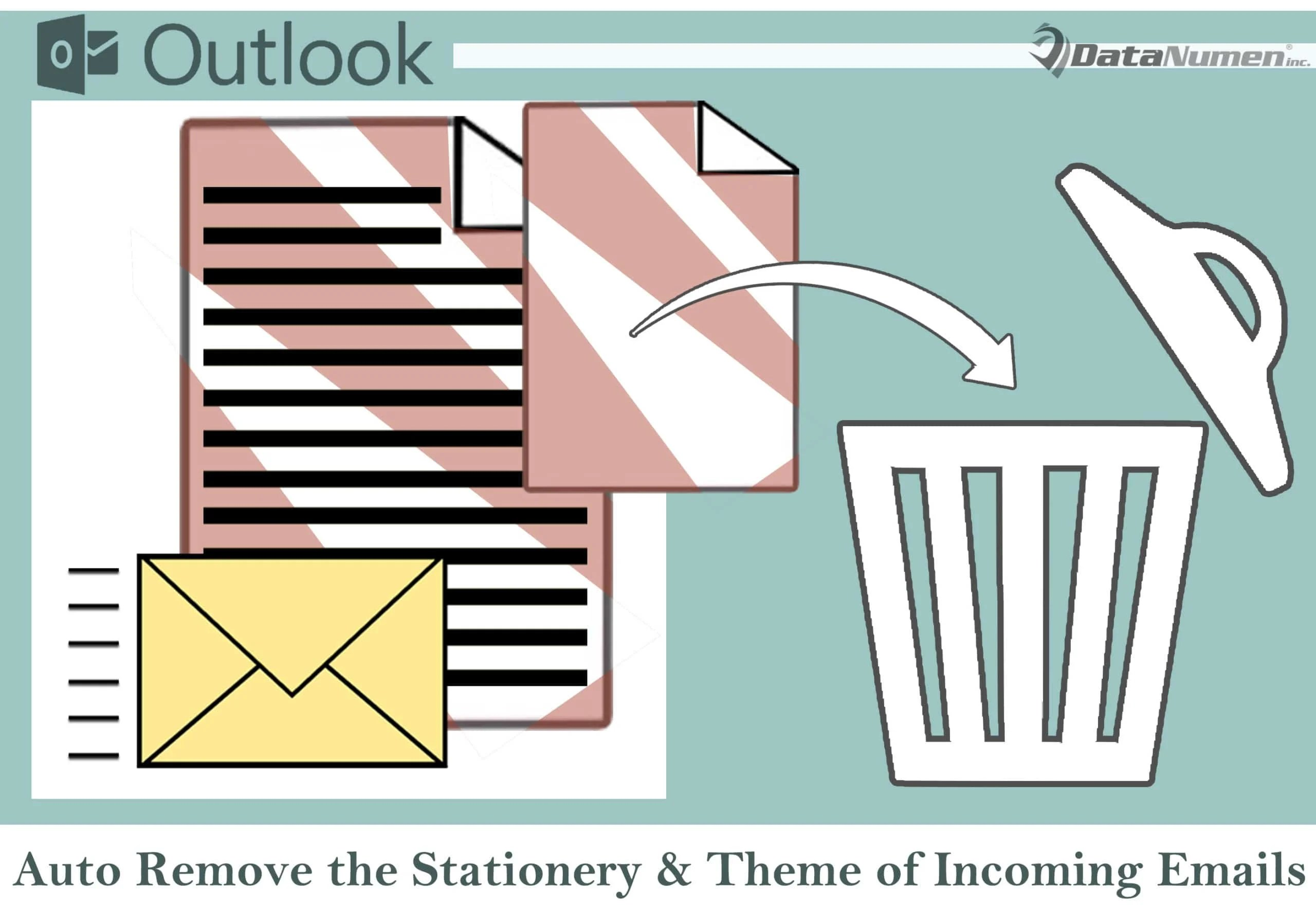 2 Methods to Auto Remove the Stationery & Theme of Incoming Emails in Your Outlook
