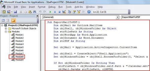2 Quick Methods To Export Outlook Calendar To A Pdf File Data