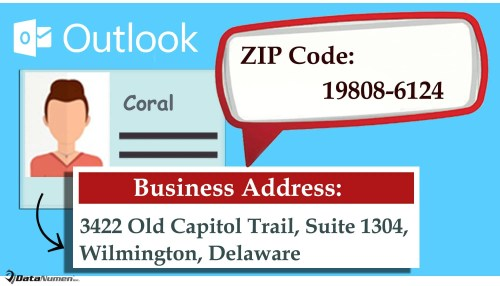 Quickly Get the ZIP Code for the Address of an Outlook Contact