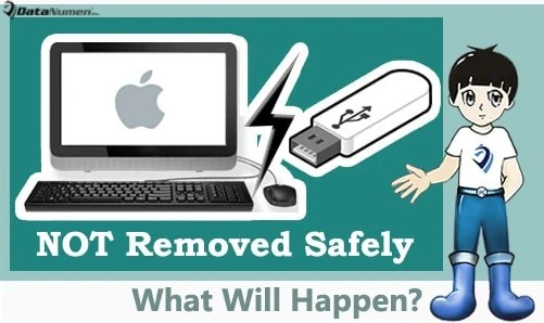 What Will Happen if USB Flash Drive Is NOT Removed Safely?