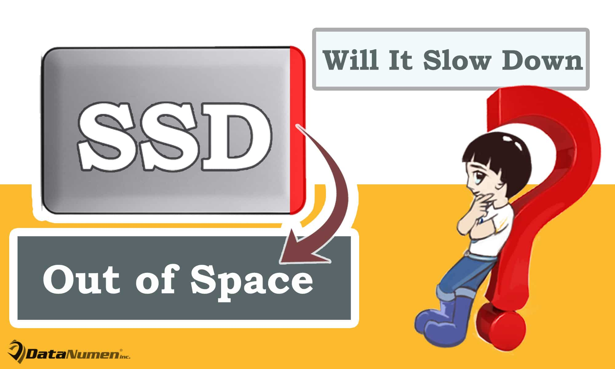 Will Solid State Drive (SSD) Slow Down when Out of Space?