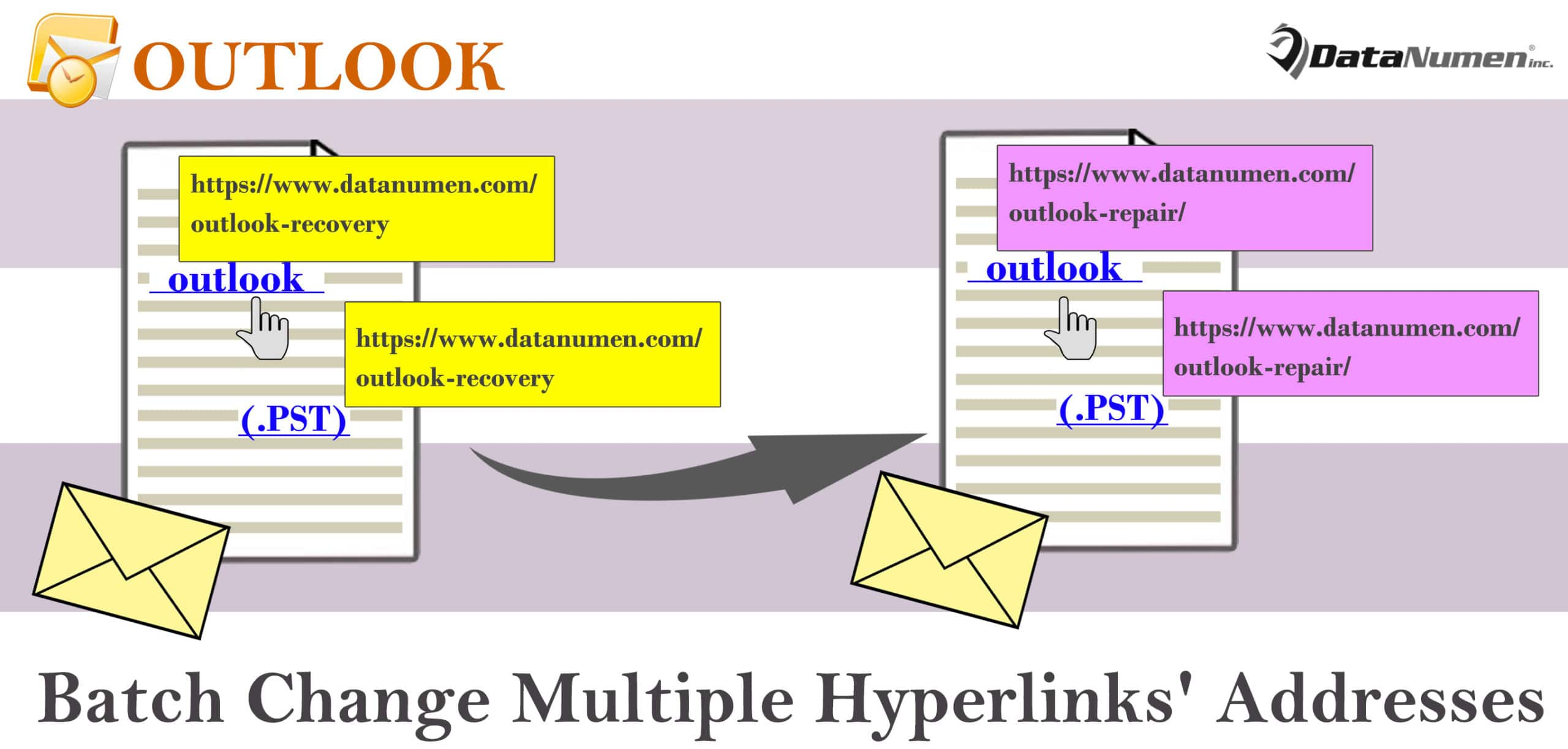 2 Methods to Batch Change Multiple Hyperlinks' Addresses in
