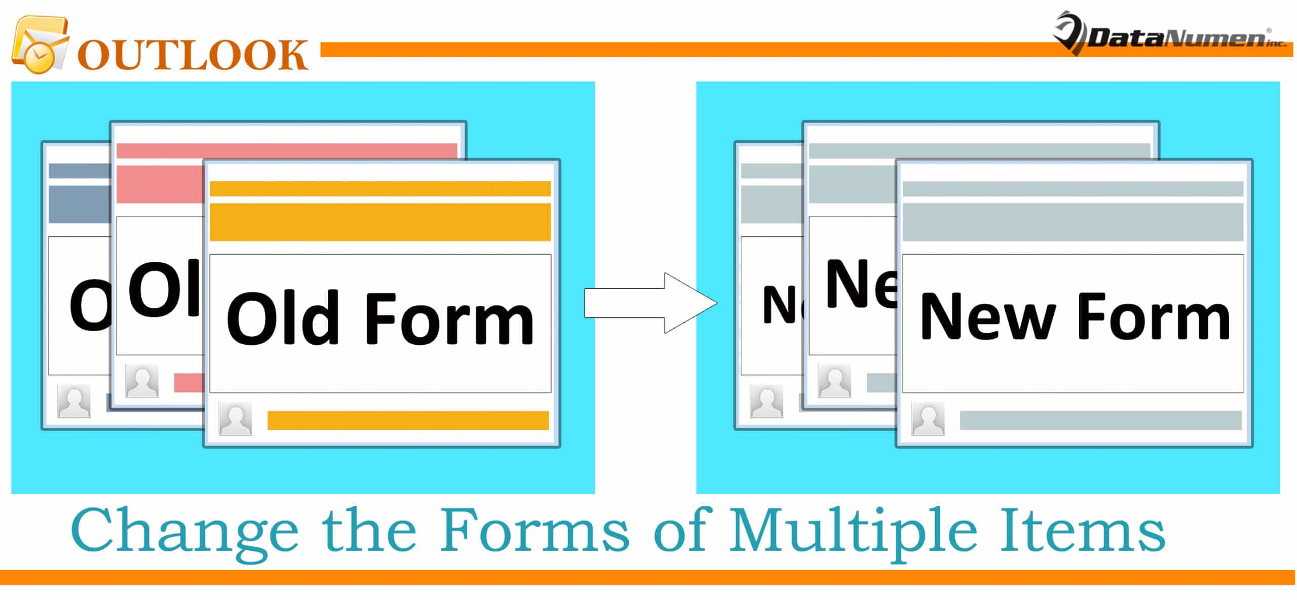 Batch Change the Forms of Multiple Outlook Items