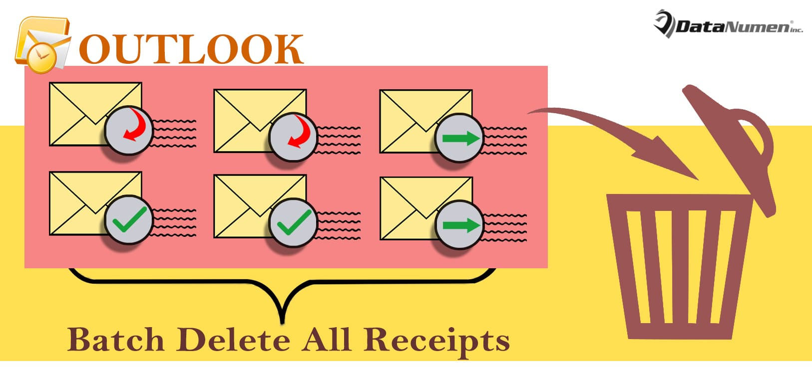 Batch Delete All Receipts in Your Outlook