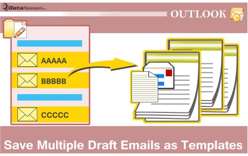 how to delete a draft in outlook