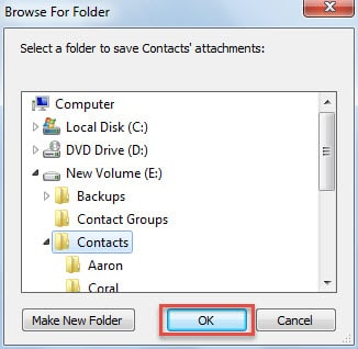 Select Windows Folder