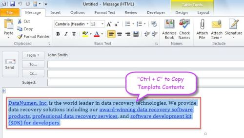 3 Easy Means To Forward Multiple Outlook Emails With A Same Template