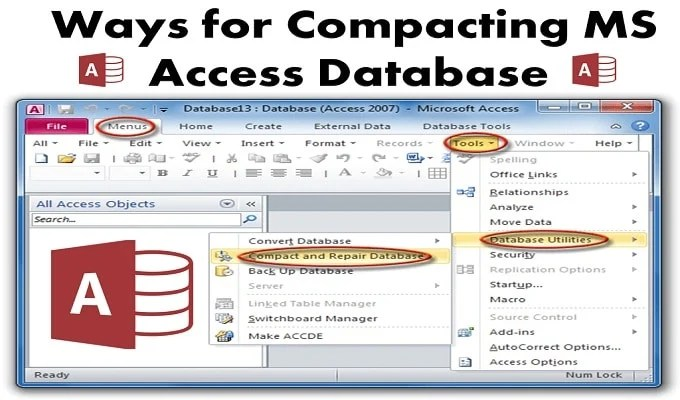3 Different Ways to Compact MS Access Database - Data Recovery Blog