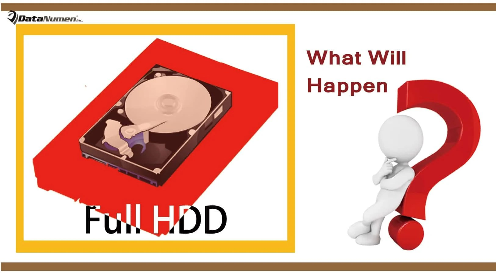What Will Happen If Your Hard Drive Is Full?