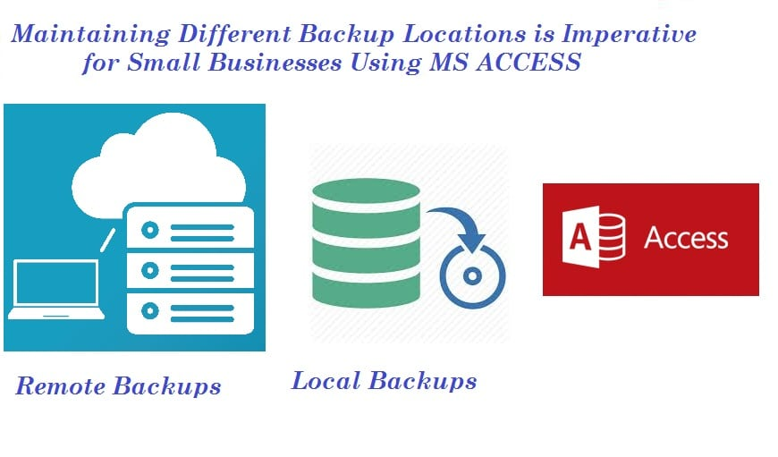 4 Reasons Why Small Business Using MS Access Should Explore Different Backup Locations