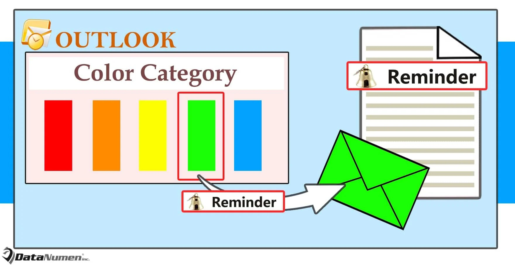 Auto Add a Reminder to an Outlook Email after Assigning a Specific Color Category to It