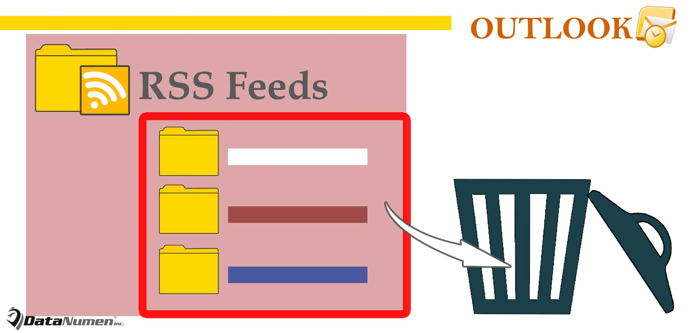 Batch Delete All RSS Feeds in Your Outlook