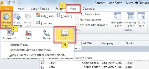 2 Quick Ways to Extract Email Addresses of All Outlook Contacts to a