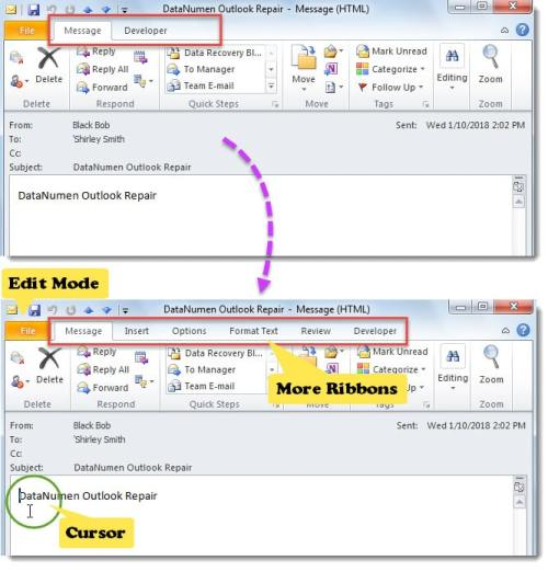 how to open the outlook in safe mode