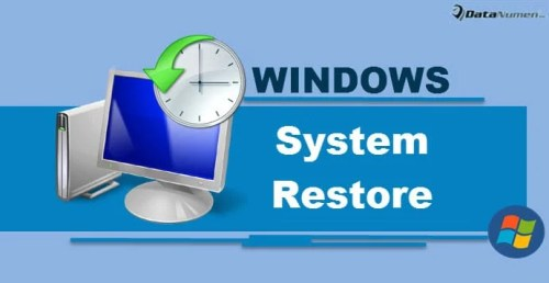 Make the Best Use of System Restore in Windows