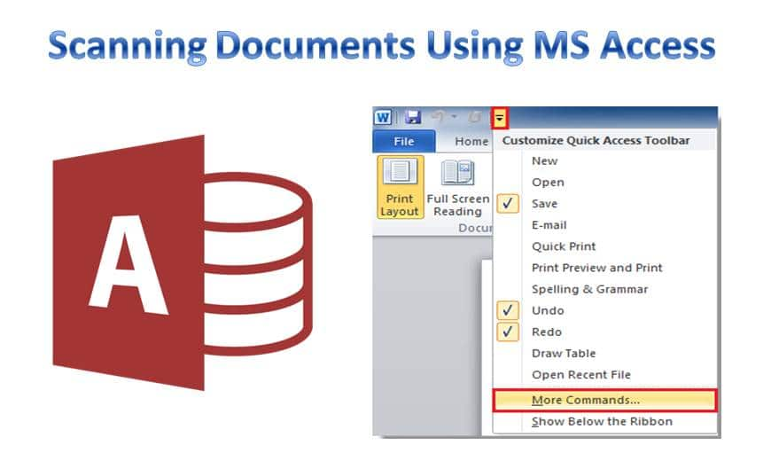 Scanning Documents In MS Access