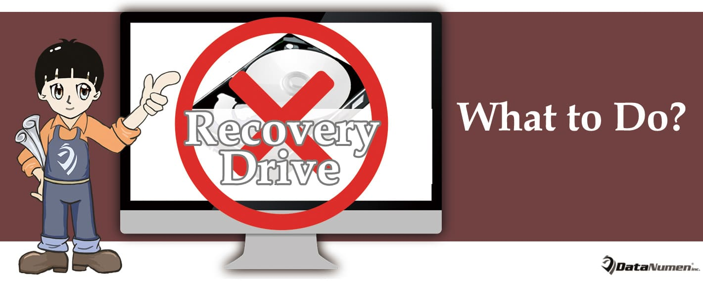 What to Do If You Cannot Create Recovery Drive in Windows?