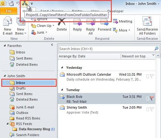 Run Macro on Current Folder