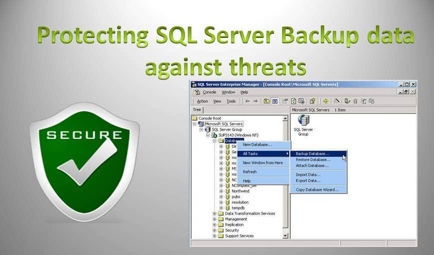 Understand Why You Need To Safeguard Data Present In Your SQL Server Backups