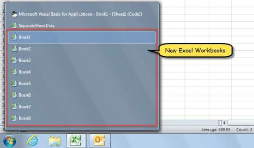 2 Fast Means to Split an Excel Worksheet's Contents into