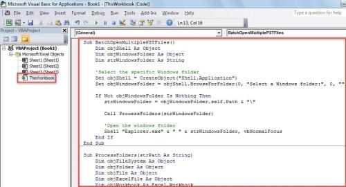VBA Code - Batch Convert Multiple Excel Workbooks to PDF Files