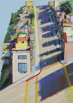 "Thiebaud's ""Ripley Street Ridge"""