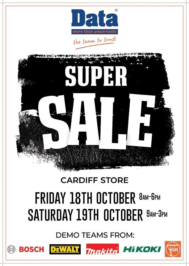 Super Tool Sale at Cardiff Store
