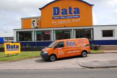 Data Powertools flagship store in Cardiff, UK