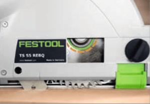 New festool TS55R saw