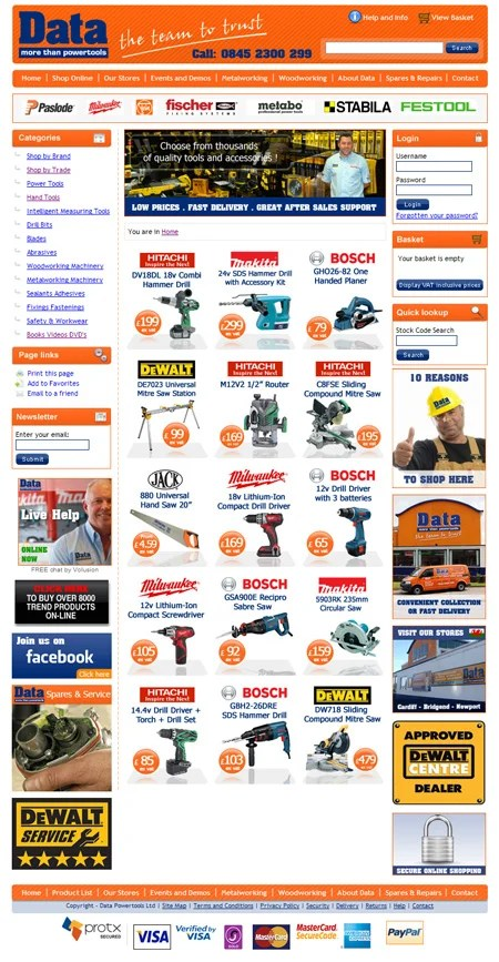 Data_more_than_power_tools_main_website