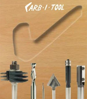 Carb-i-Tool Router Cutters from Data Powertools Ltd