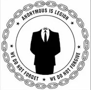 Anonymous hacks indian site