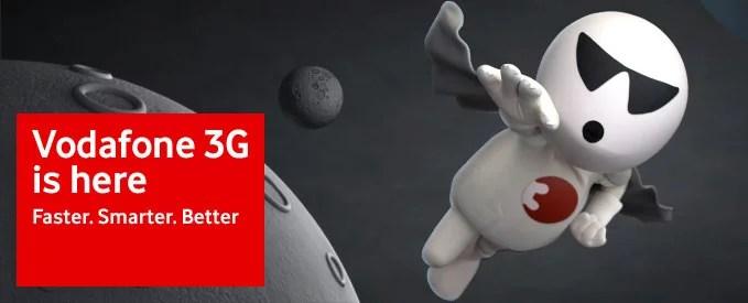 Vodafone 3G service