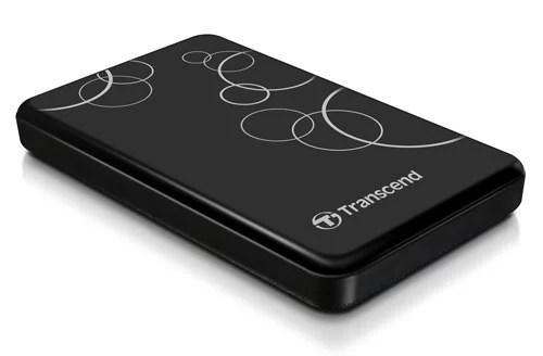 Transcend Next-Gen Super Speed USB 3.0 StoreJet 25A3 Portable Hard Drive