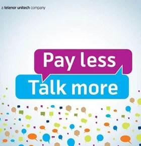 Uninor Mumbai brings Extra Talktime recharge Offer