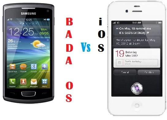 Samsung BADA OS Vs iOS - Comparison