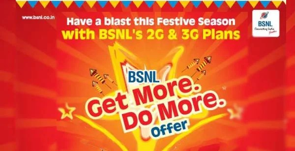 BSNL Day and Festival Promotional Offers - Full TalkTime, 10% Extra 3G Data, Free SIM