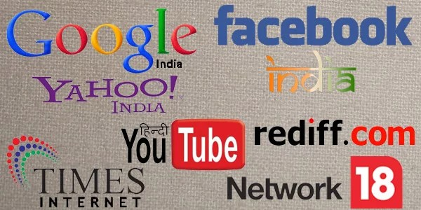 Google ranked top destination, Facebook tops user Engagement in India