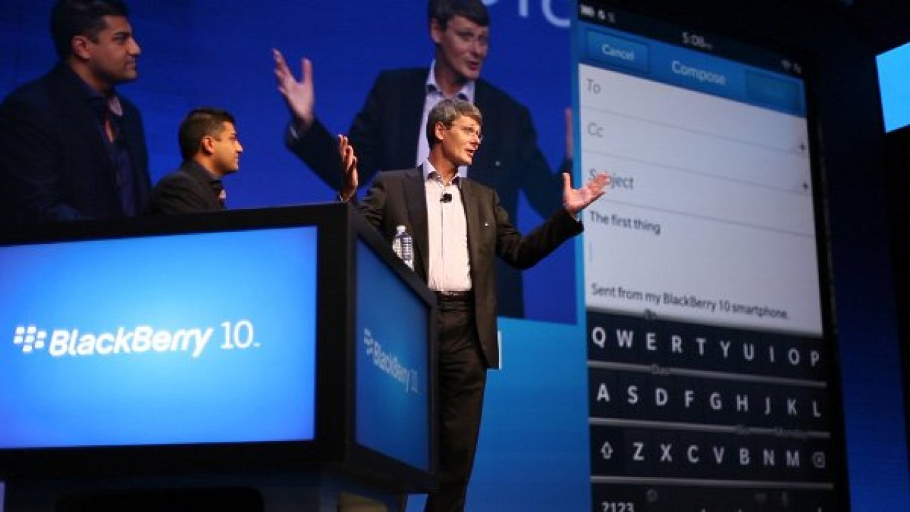 Blackberry (RIM) debuts Blackberry 10 OS along with Z10 and