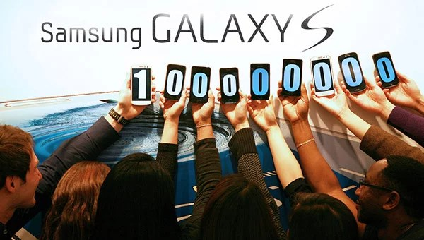 Samsung Galaxy S Series Smartphone Sales crosses100 million units