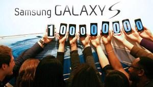 Samsung Galaxy S Series Smartphone Sales crosses100 million units