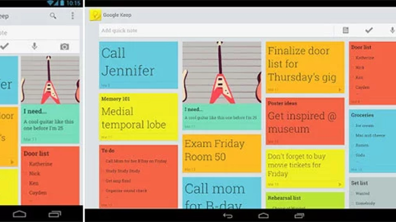 Google unveils Note Taking App 'Google Keep' - keep track of your
