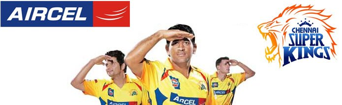 Aircel IPL Offer - get Extra Talk Time Everytime CSK Scores above 164runs