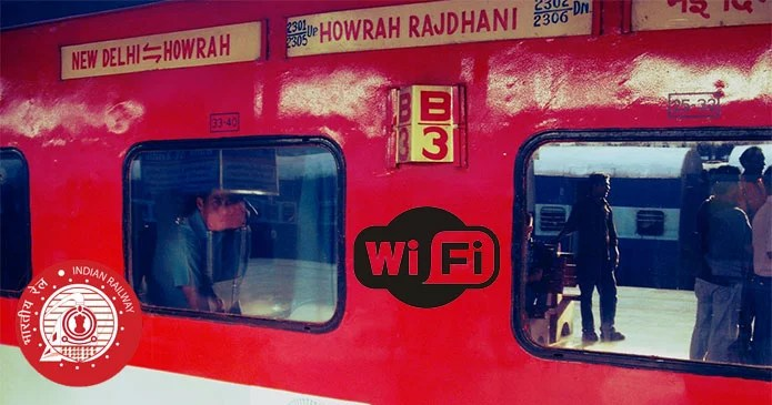 Wi-Fi Facility by Indian Railway unveiled in Howrah Rajdhani Express Train